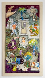 Max and Friends, by Martha Ressler. 33 x 18""
