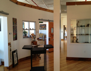 Interior, Walk In Art Center, 3rd Floor