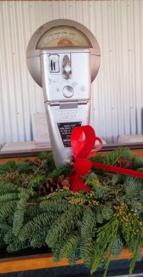Parking meter as decor