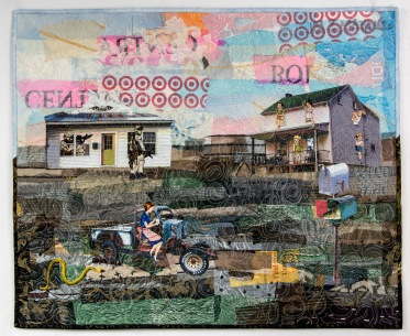 """Martha Ressler, A Troubled Day in the Country 25.25 x 30"""""""