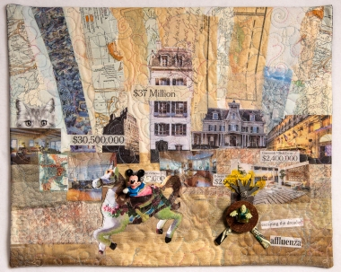 Martha Ressler Escaping Affluenza 16 x 20
