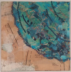 Martha Ressler Log map piece 1