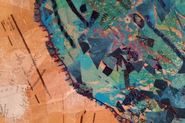 M Ressler Log Map piece 1 detail