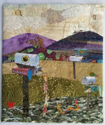 Martha Ressler What the Cat Saw, 20 x 16.5