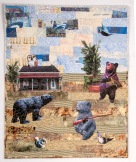 """Martha Ressler The Right to Arm Bears. Art Quilt 30 x 24.25"""""""