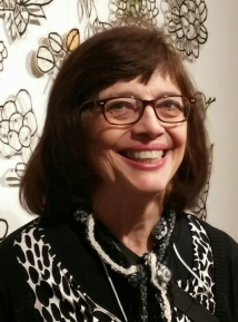 SusanSwarthout, current president of Fiberarts Guild of Pittsburgh