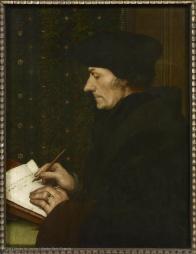 Hans Holbein, Erasmus, 1523