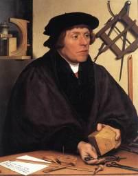 Hans Holbein, Nikolaus Kratzer, 1528