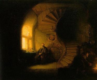 Rembrandt, Philosopher in Meditation, 1632