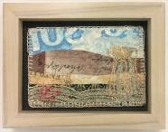 M Ressler, September, art quilt, 5 x 7: