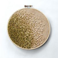 French knots (Arcane Memory Designs)