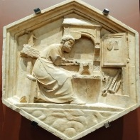 Andrea Pisano (and workshop), Metal Working, c. 1340's