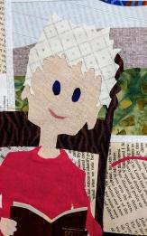 Martha Ressler, Elizabeth's World, unfinished, detail