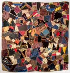 "Victorian Crazy Quilt, 48 x 52"""