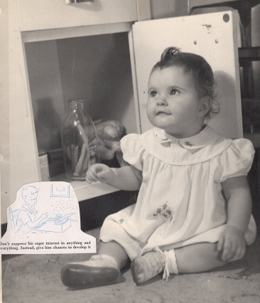 martha as baby with the bottle078