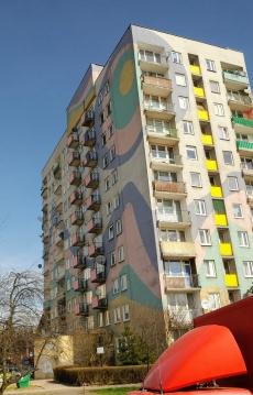 painted communist condo