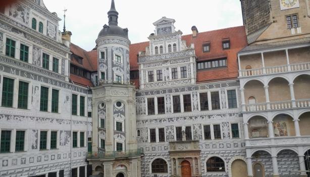 Zwinger Palace rebuilt