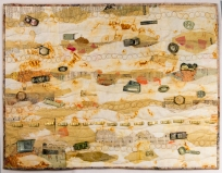 Martha Ressler, Land Filled, 26 x 34 framed.