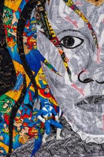 Harriet Tubman as a Superhero-detail small