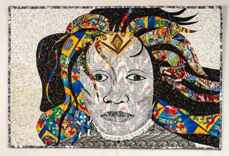 Harriet tubman as a Superhero small