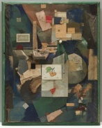 Kurt Schwitters, Merz Picture 32, The Cherry Picture
