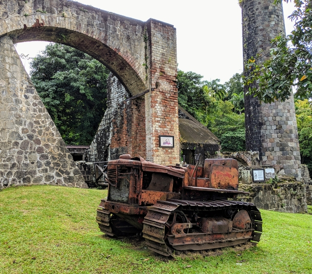Sugar Mill ruins, St. Kitts